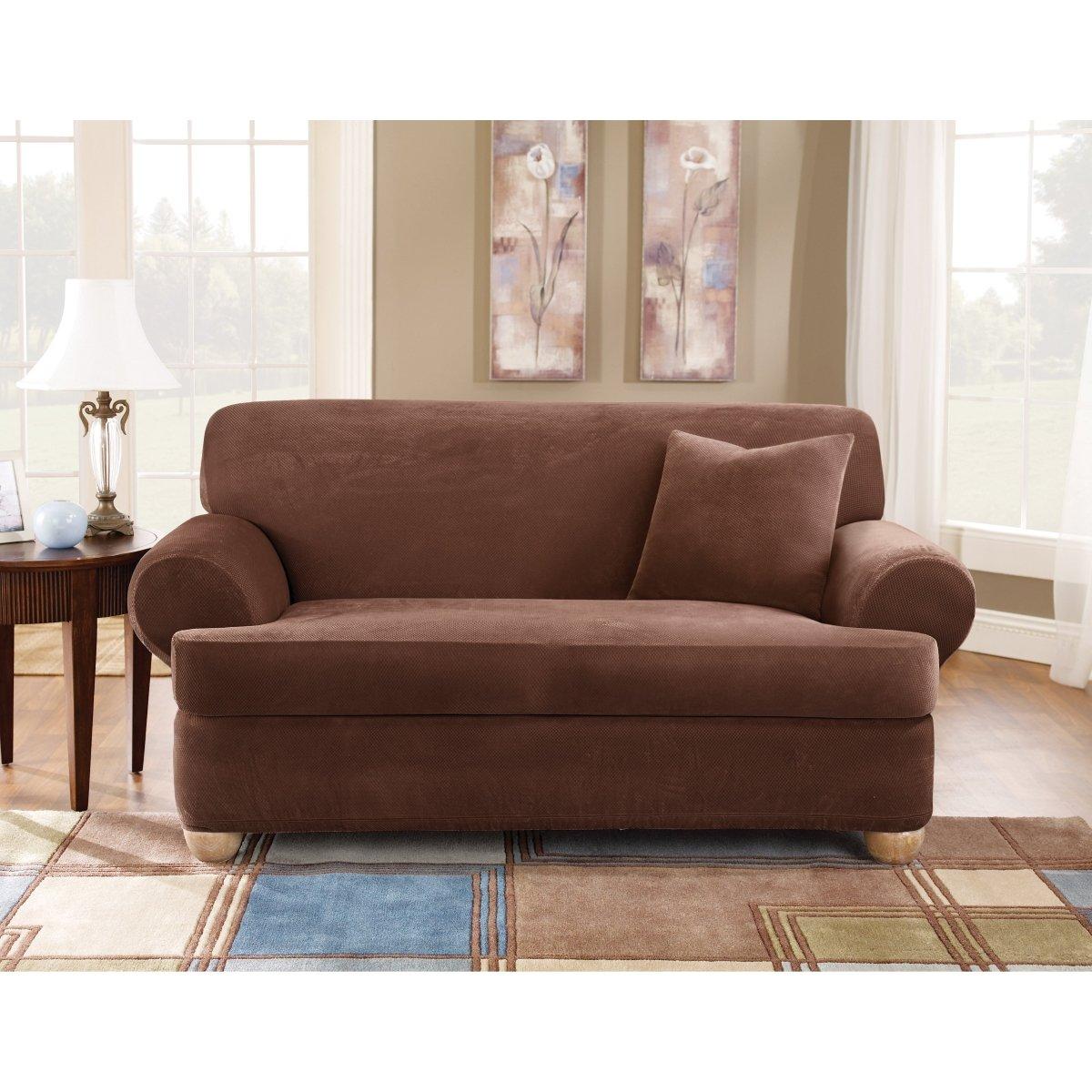 Sure Fit T Cushion Sofa Slipcover Home Furniture Design