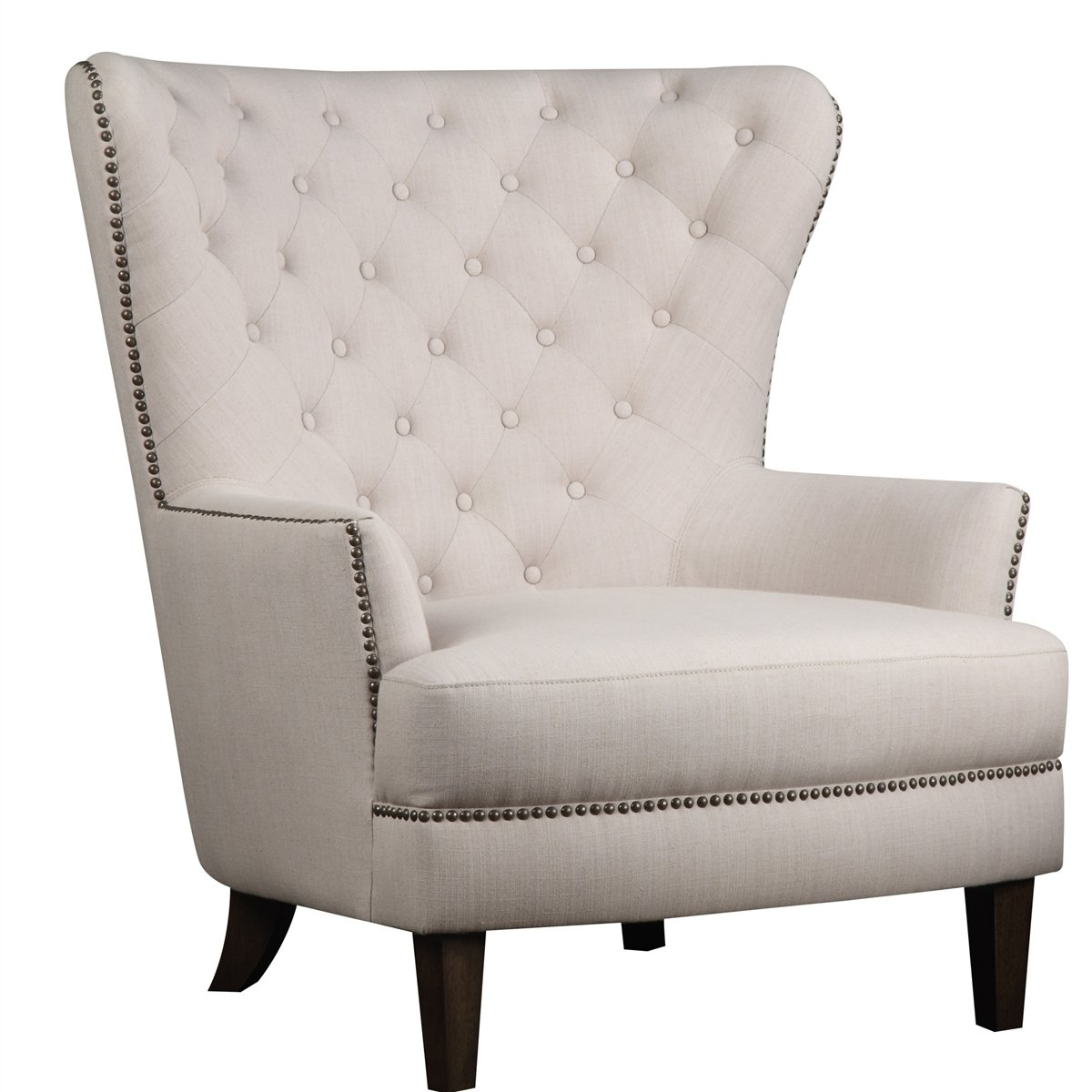 Tufted accent chair home furniture design for Accent furniture