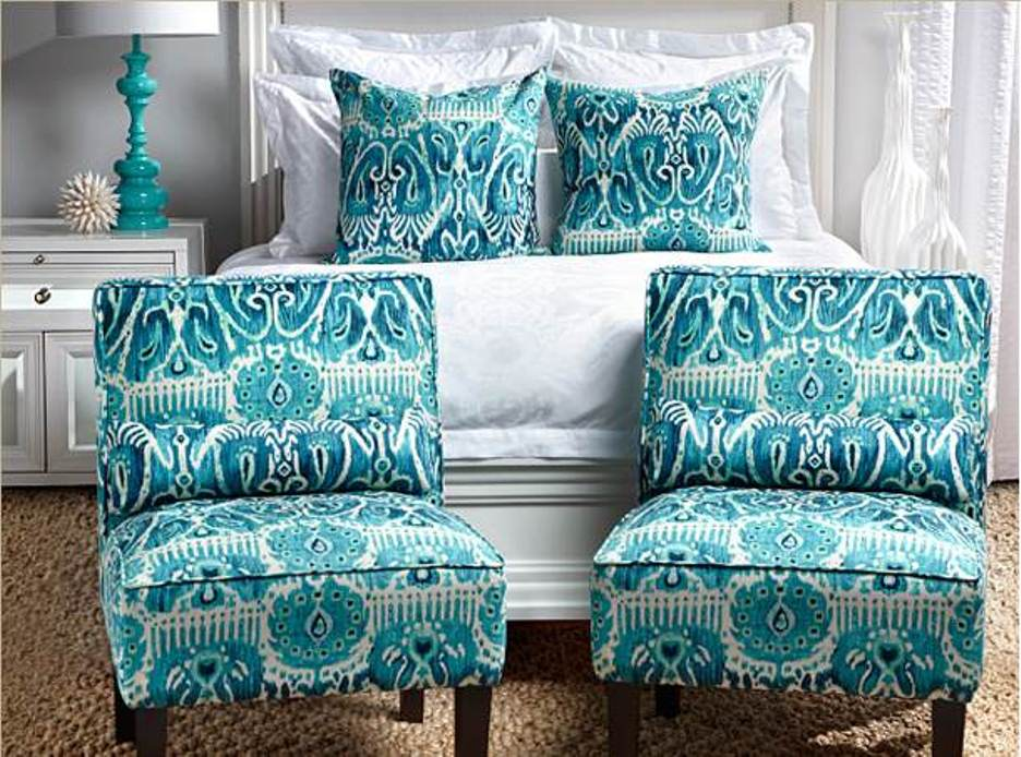 Turquoise Accent Chair Home Furniture Design