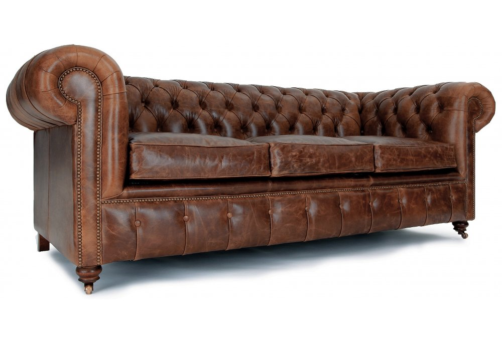 vintage leather chesterfield sofa home furniture design. Black Bedroom Furniture Sets. Home Design Ideas