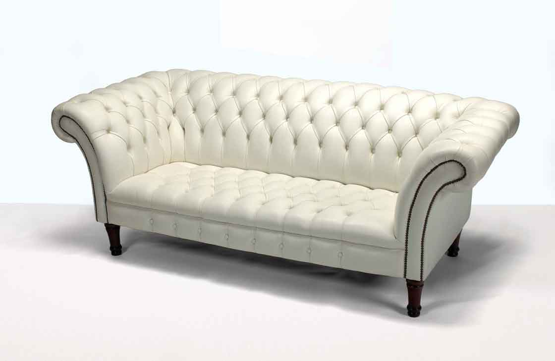 White Chesterfield Sofa Home Furniture Design