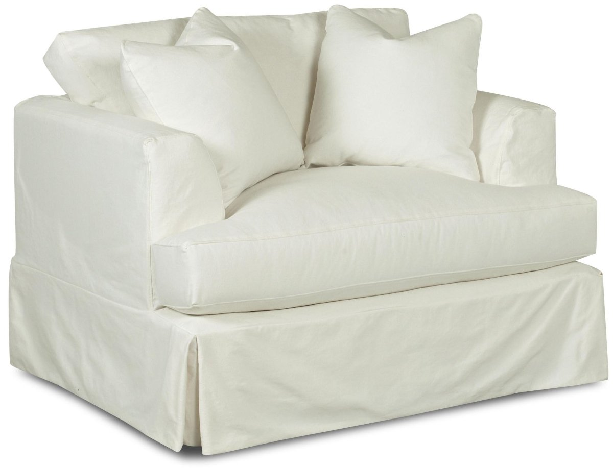 I bought this and the matching Sure Fit Loveseat Slipcover for my living room because I have Great Danes which shed A LOT. The