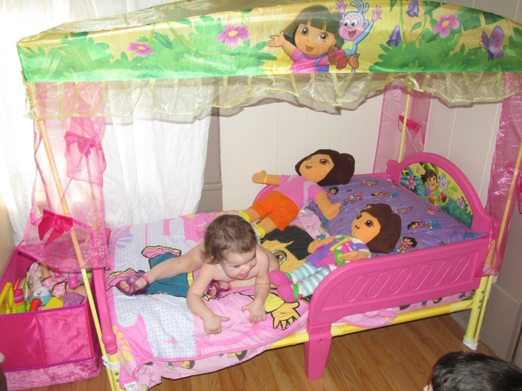 Dora Toddler Bed Set Home Furniture Design