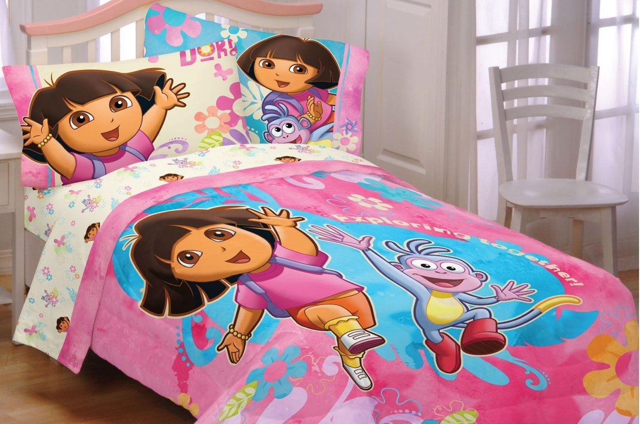 Dora Toddler Bedding Set Home Furniture Design