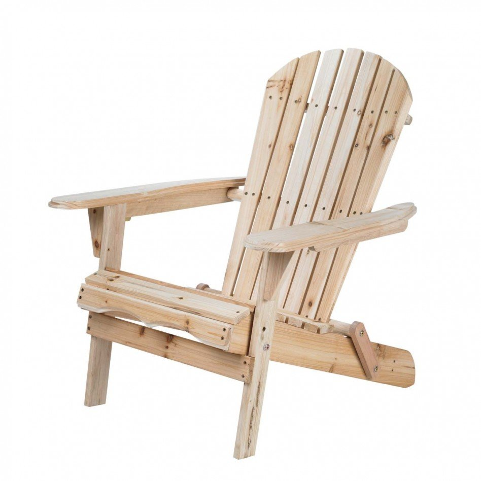 Living Accents Folding Adirondack Chair Home Furniture