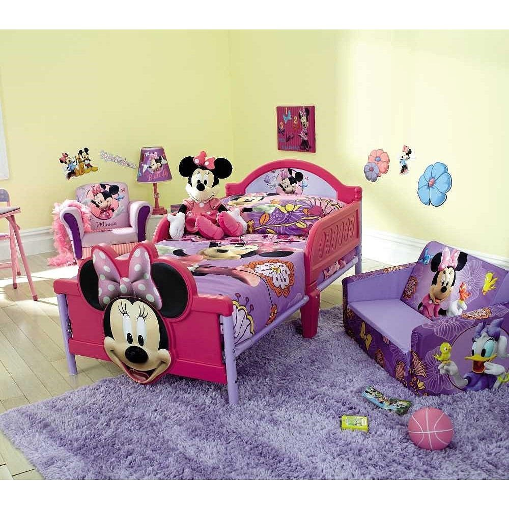Minnie Mouse Toddler Bed Set Home Furniture Design