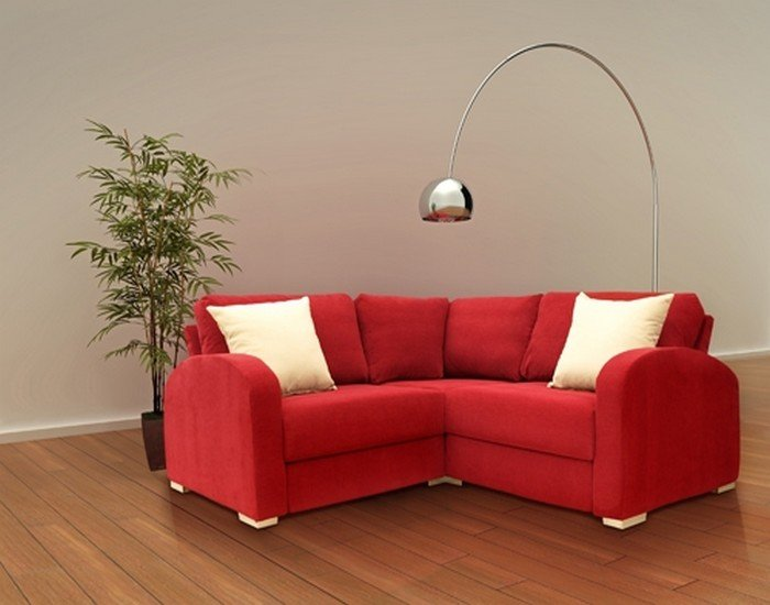 Small Corner Sectional Sofa Home Furniture Design