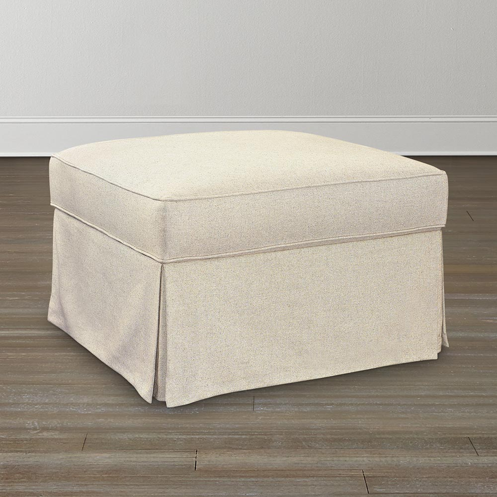 Square Ottoman Slipcover Home Furniture Design