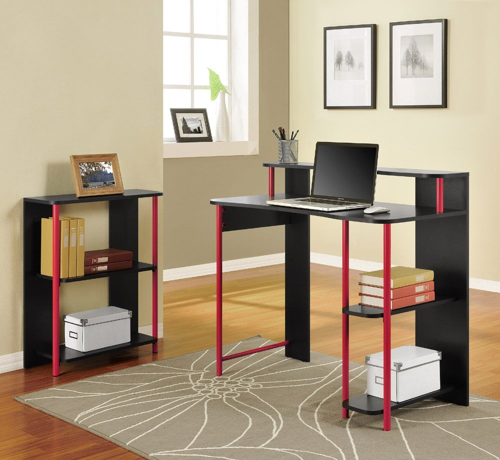 student desk for bedroom home furniture design. Black Bedroom Furniture Sets. Home Design Ideas