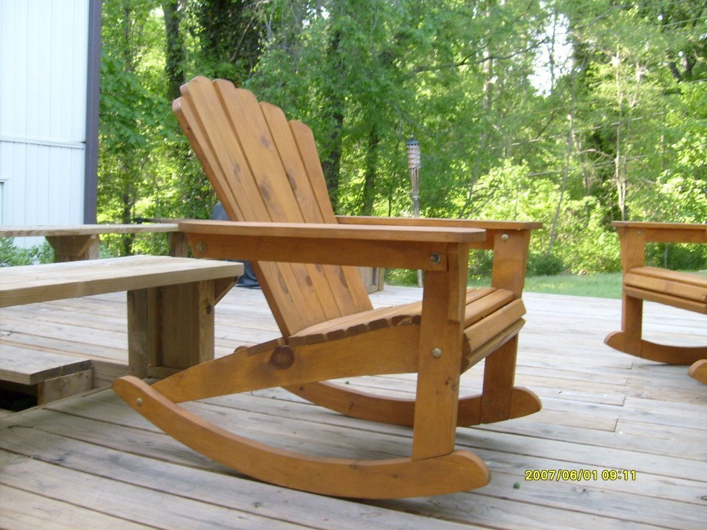 Wooden adirondack chairs lowes home furniture design - Adirondack style bedroom furniture ...