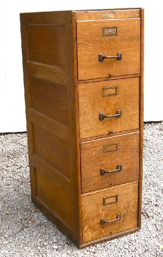 Vintage Wooden Cabinets ~ Antique wooden file cabinets image yvotube
