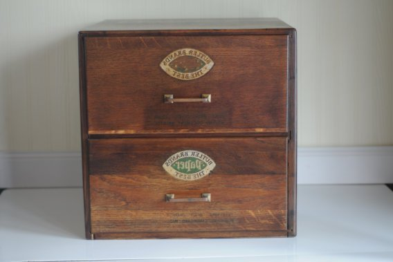 Antique Wood Filing Cabinet Home Furniture Design