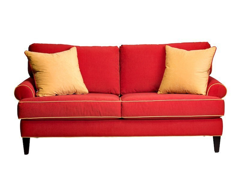 Apartment Size Leather Sofa