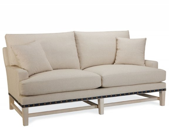 Barcelona apartment size sofa sofas and sectionals living for Apartment size chaise lounge