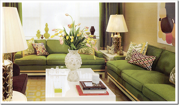 Apple green sofa home furniture design for Apple green living room ideas