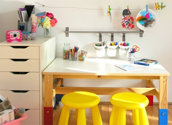 Art Desk For Teenager Home Furniture Design