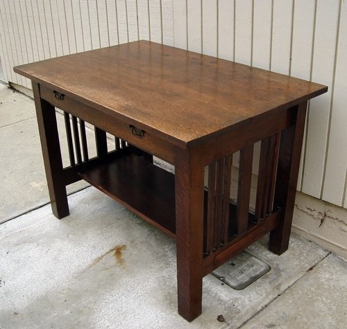 arts and crafts style desk home furniture design