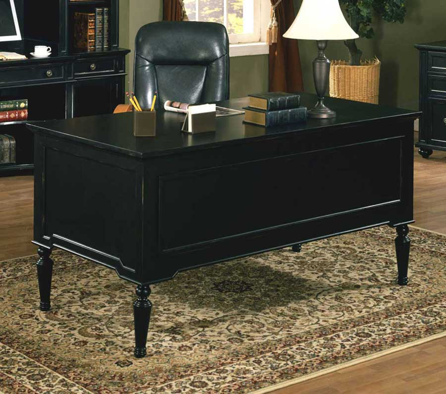 Black Executive Desk Home Furniture Design