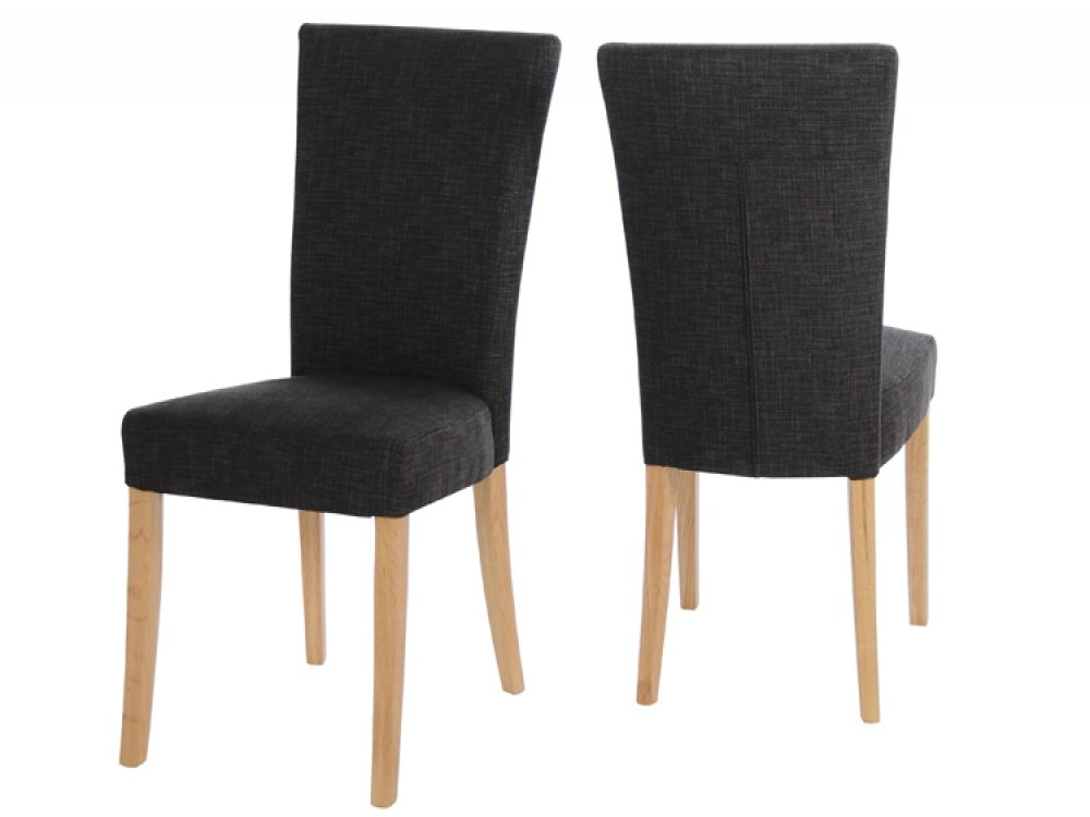 black fabric dining chairs home furniture design