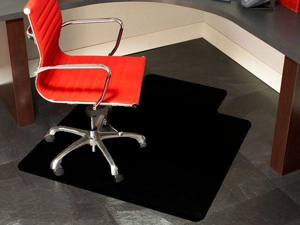 Black Office Chair Mat Home Furniture Design