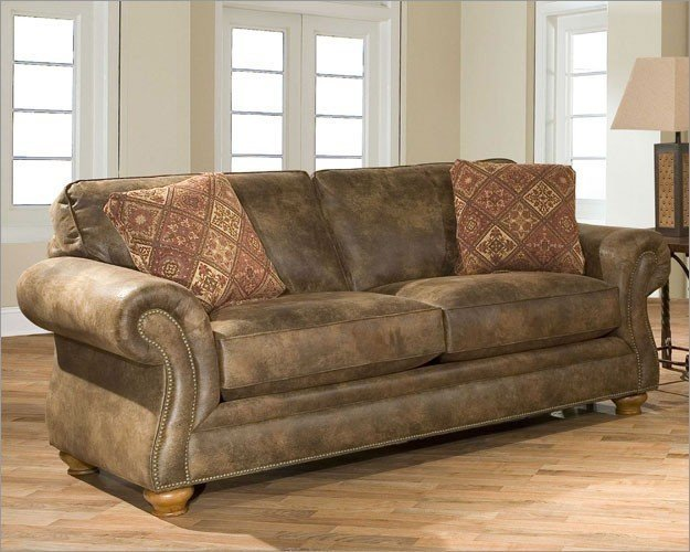 Broyhill Leather Sleeper Sofa Home Furniture Design