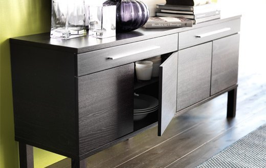 buffet cabinet ikea home furniture design. Black Bedroom Furniture Sets. Home Design Ideas