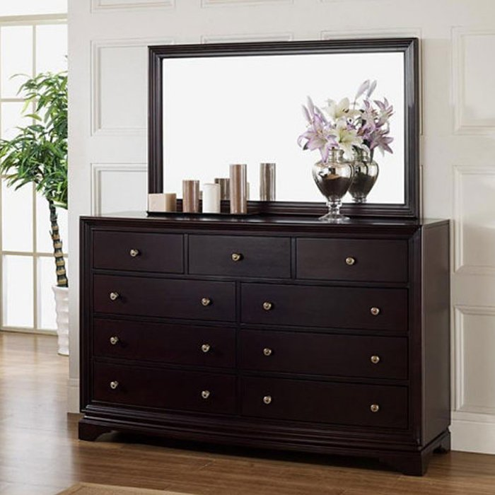 cheap black dresser with mirror home furniture design