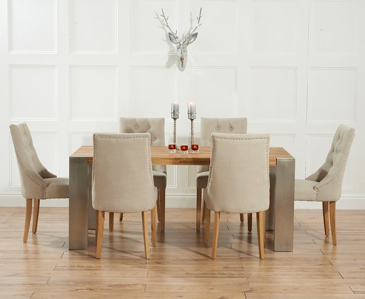 Cheap fabric dining chairs home furniture design for Cheap dining chairs set of 8