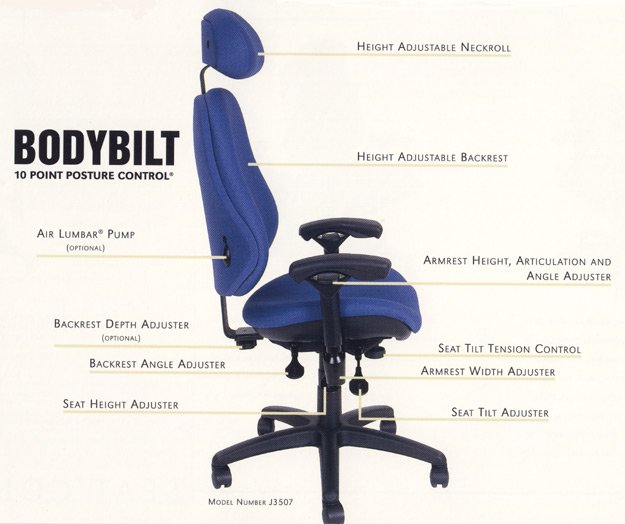 Ergonomically Correct Office Chairs Home Furniture Design