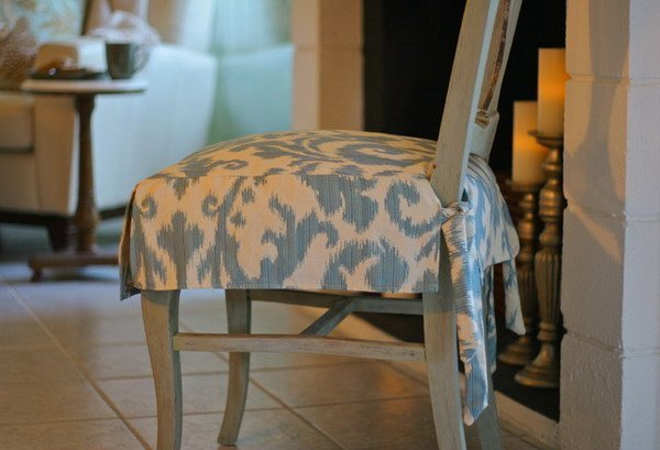 Fabric Seat Covers For Dining Chairs Home Furniture Design