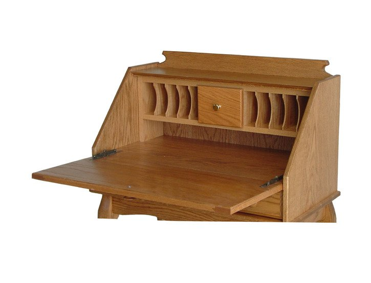 Fold down secretary desk home furniture design for Fold down desk