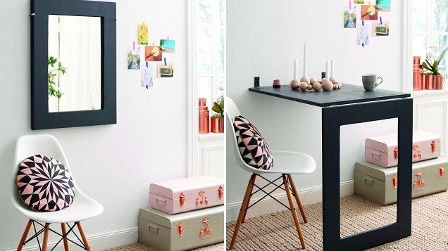 Fold Up Wall Desk Home Furniture Design