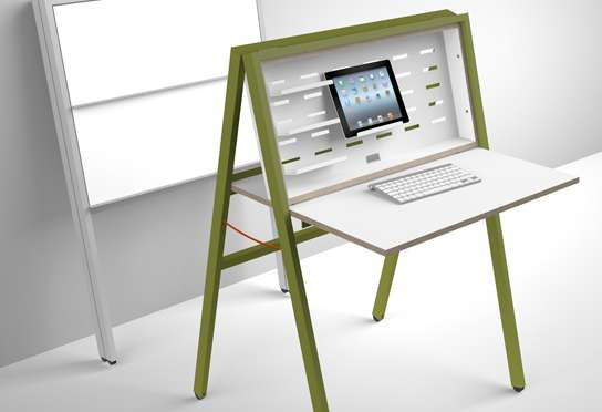 small portable writing desk