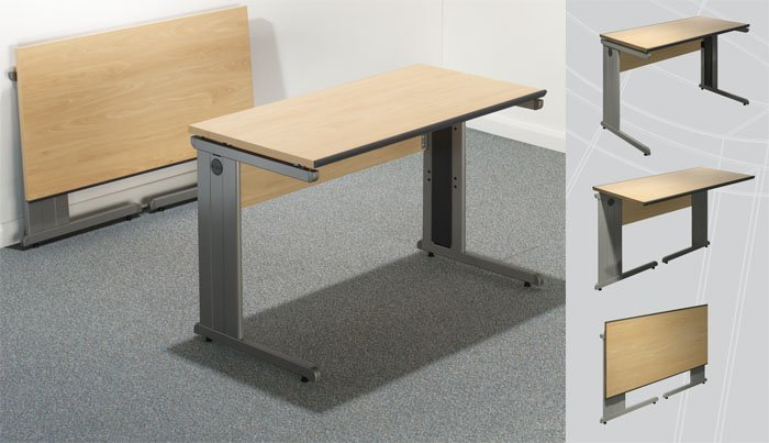Folding office desk home furniture design for Office folding tables