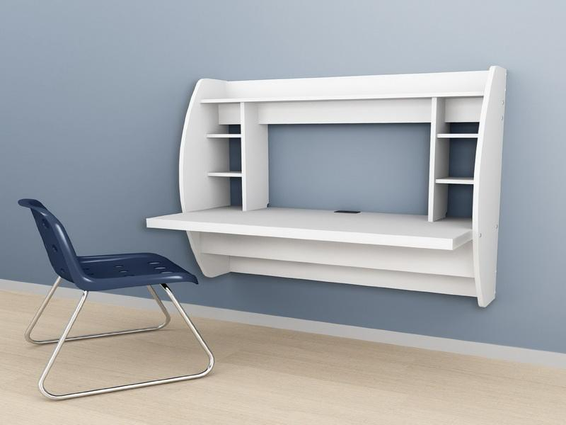 Folding Wall Desk Home Furniture Design