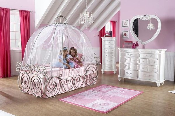 Girls princess bedroom set home furniture design for Princess style bedroom furniture