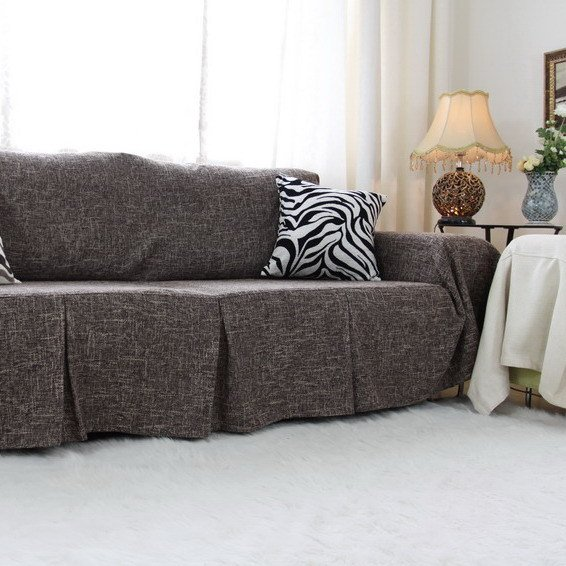 Gray Couch Slipcover Home Furniture Design