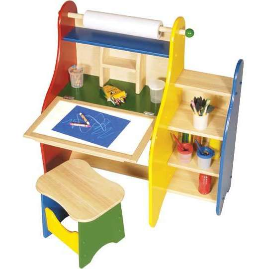 Guidecraft Art Activity Desk Home Furniture Design