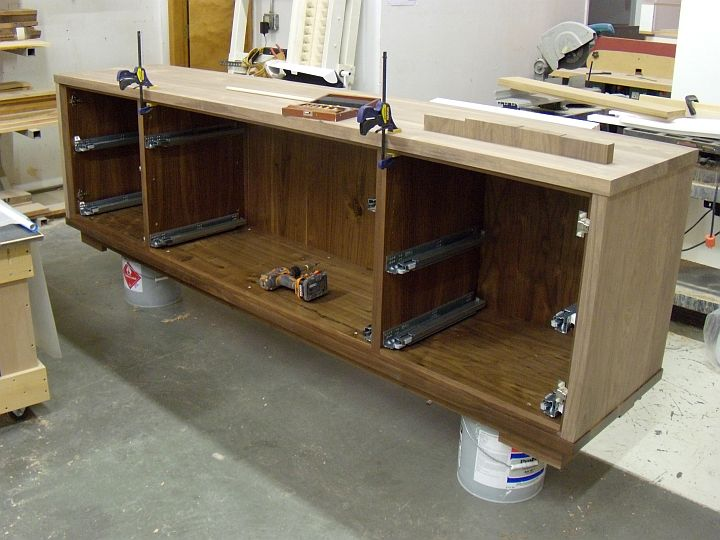 How To Build A Buffet Cabinet Home Furniture Design