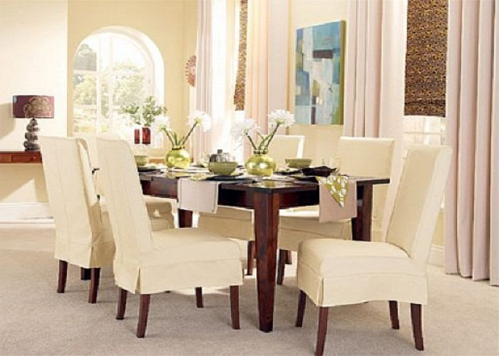 Ikea Slipcovered Dining Chairs Home Furniture Design