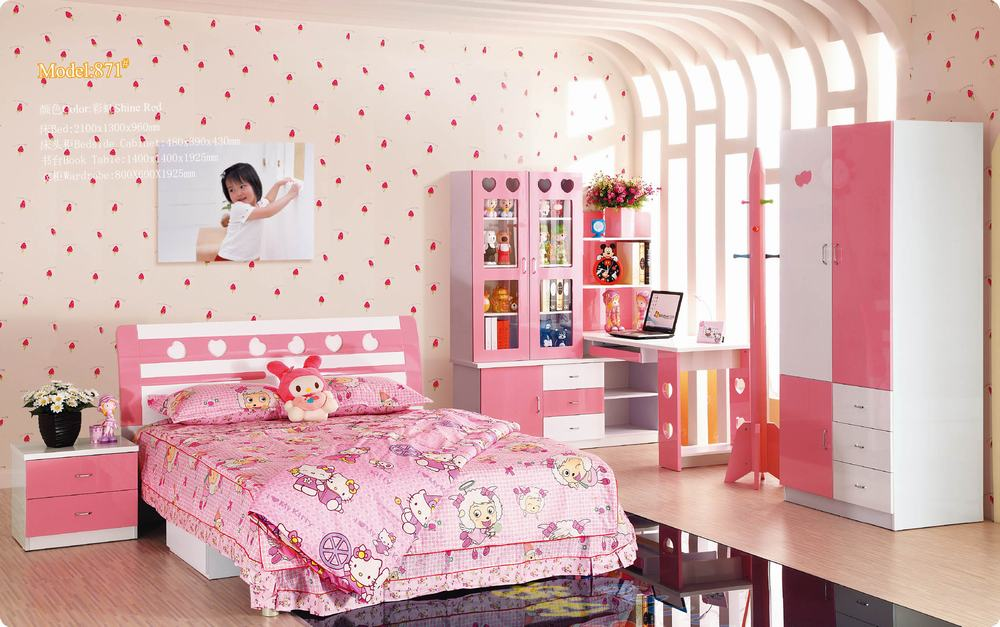 Kids bedroom sets for girls home furniture design for Youth bedroom furniture sets