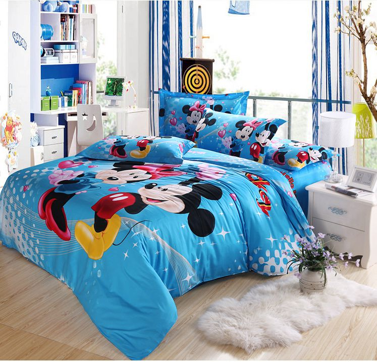Bedrooms With Character To Match And Shape Your Kid S Personality: Kids Character Bedding Sets