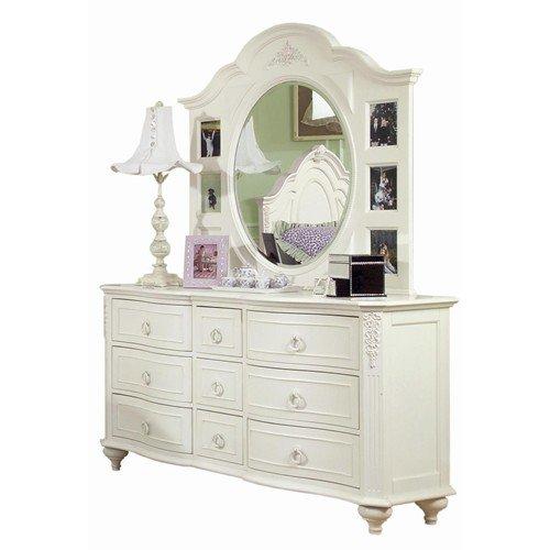 Kids White Dresser With Mirror Home Furniture Design