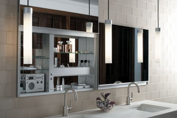 Kohler Cabinets Bathroom : The surprising wallpaper is segment of Bathroom Medicine Cabinets: New ...
