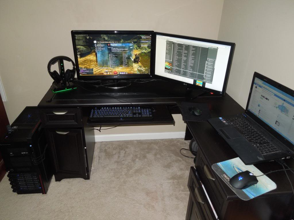 The marvellous image is part of Planning to Shop for a Gaming Desk