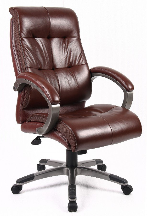 Leather office chair money wise way to improve your office home furniture design - Why you need an ergonomic chair for your home office ...