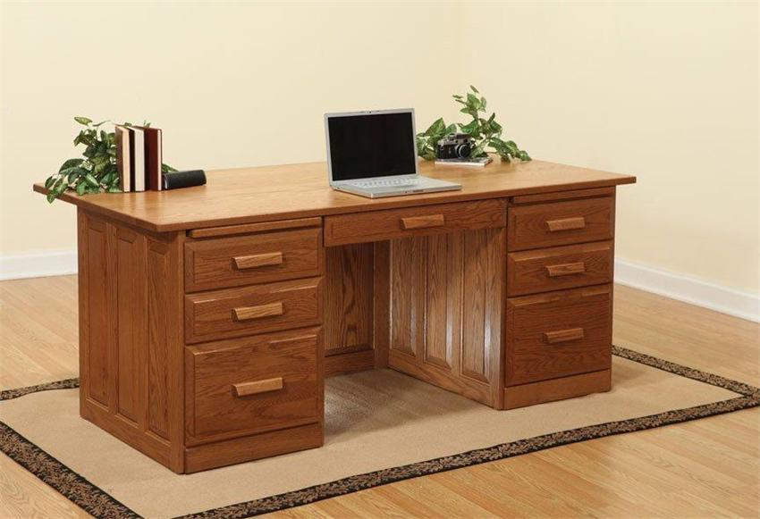 Oak Executive Desk Home Furniture Design