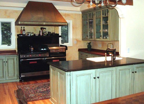 Mobile Kitchen Cabinets : Paint or stain kitchen cabinets home furniture design