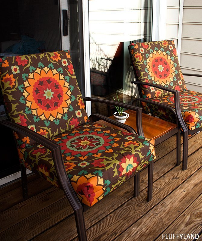 Recovering Outdoor Cushions Home Furniture Design