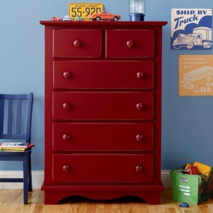 Red kids dresser home furniture design Dressers for kids